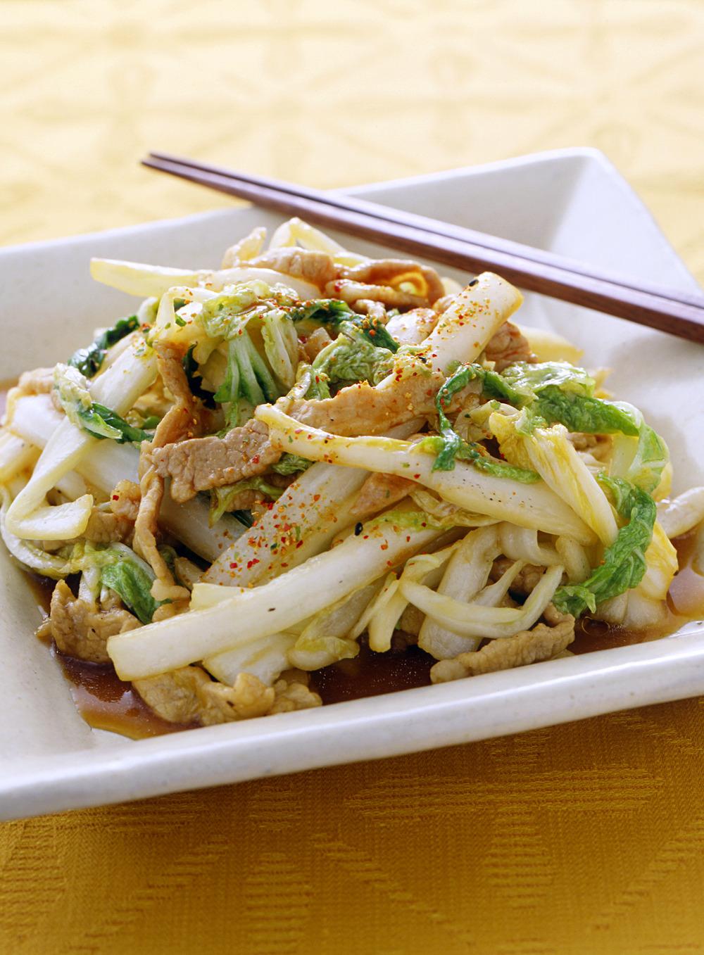 白菜 を 使っ た 料理