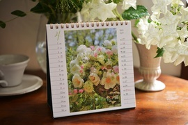 オレンジページ 花カレンダー2021 卓上