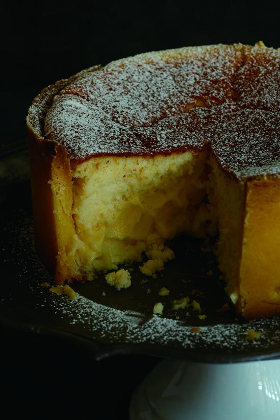 いまだかつて食べたことのない新食感★【フォンデュ系】チーズケーキがアツイ!!