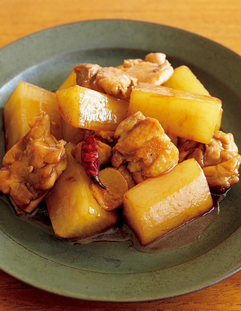 味つけは【オイスターソース】のみ! 超シンプル、超ウマイ大根の煮ものあります。