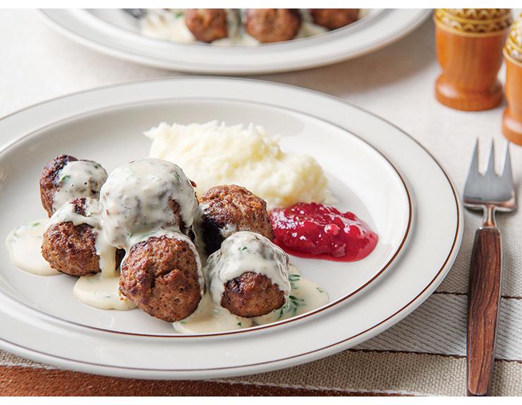 コトラボ発 ひと皿から世界の旅 【vol.6 開拓時代からの伝統料理 スウェーデンミートボール】