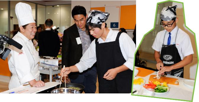 ジュニア料理選手権 選考会の様子
