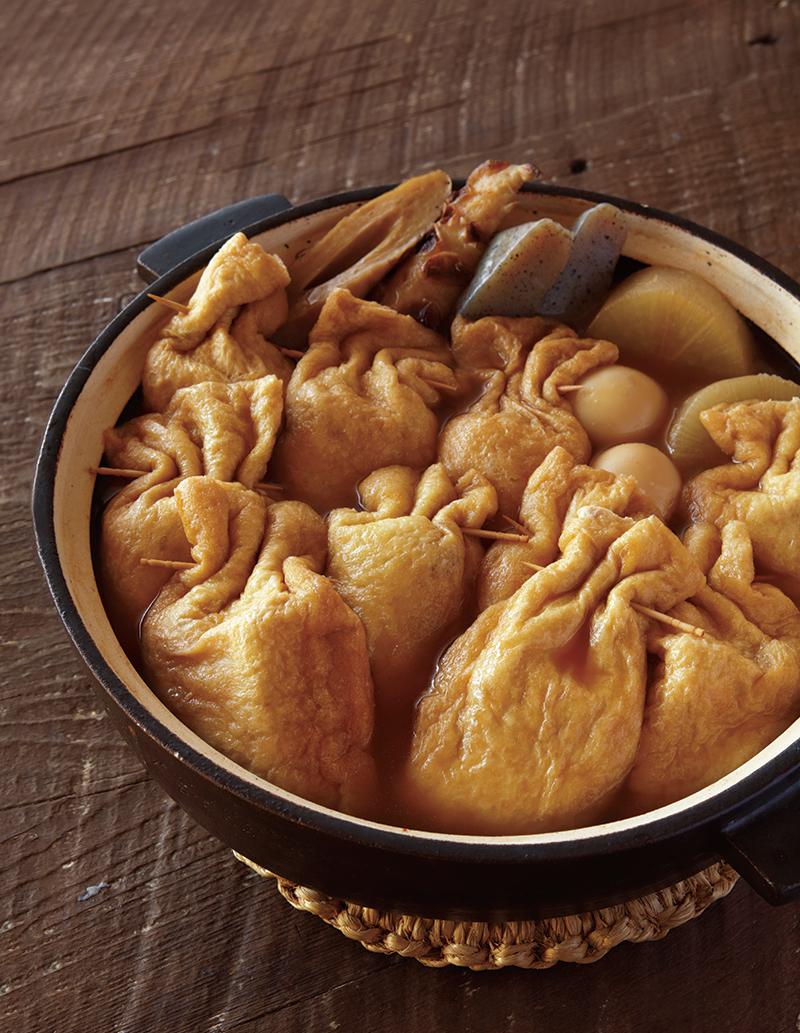 食べてからのお楽しみ!5種の餅きんちゃくおでんの作り方【ぺこ男レシピ大公開vol.13(最終回)】
