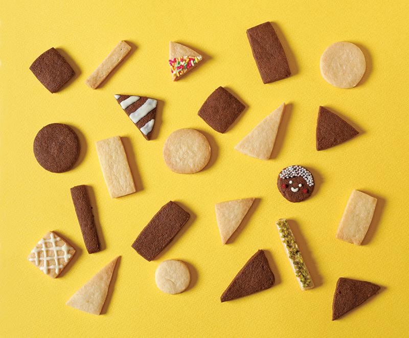 ばらまきバレンタインは、【まる さんかく しかくクッキー】におまかせ!