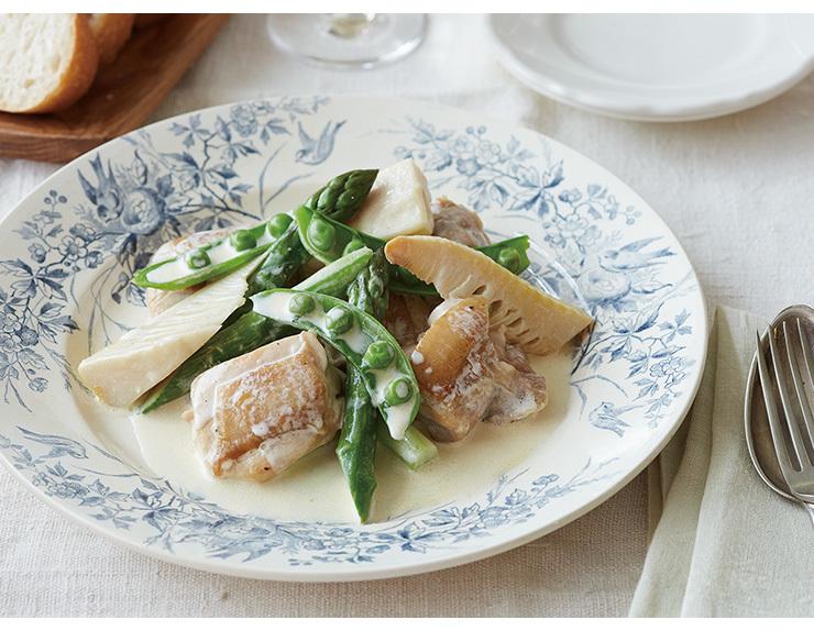 コトラボ発 ひと皿から世界の旅 【vol.10 フランスで生まれた簡単&ヘルシーな家庭料理「鶏肉と春野菜のエチュベ」】