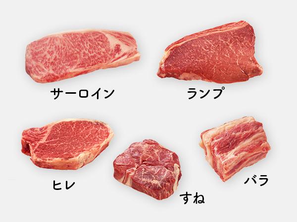 ランプ ステーキ 牛