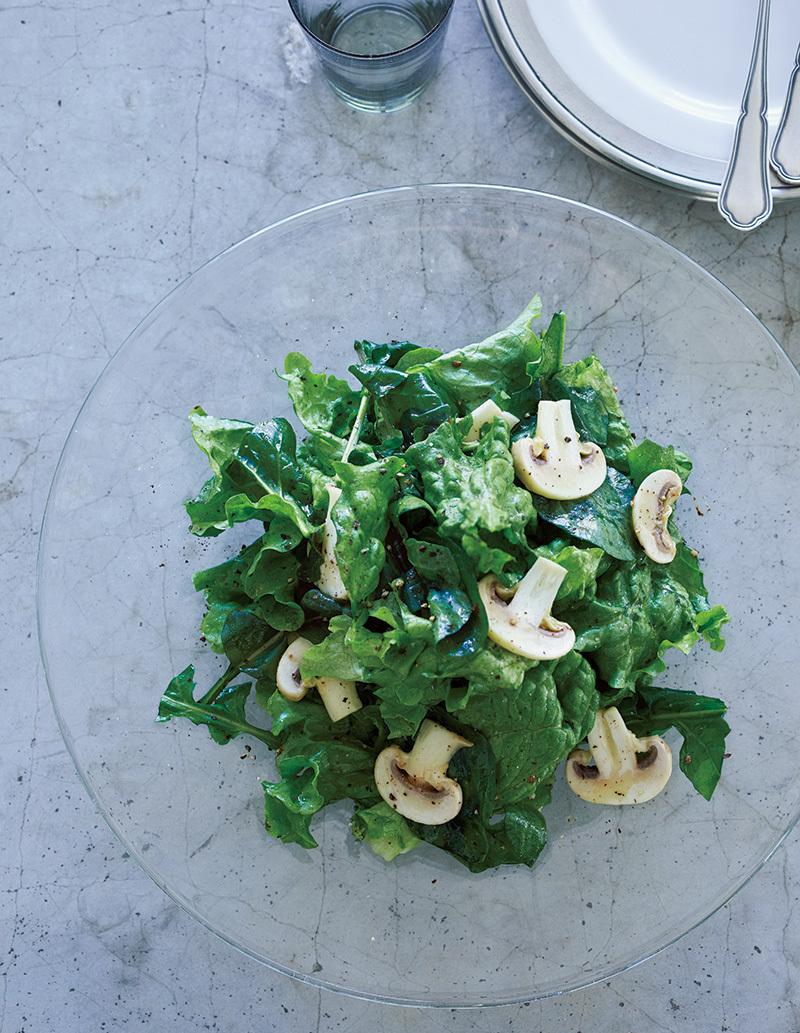 人が来る日にぜひ! いつもの「グリーンサラダ」をごちそう級にする法則。