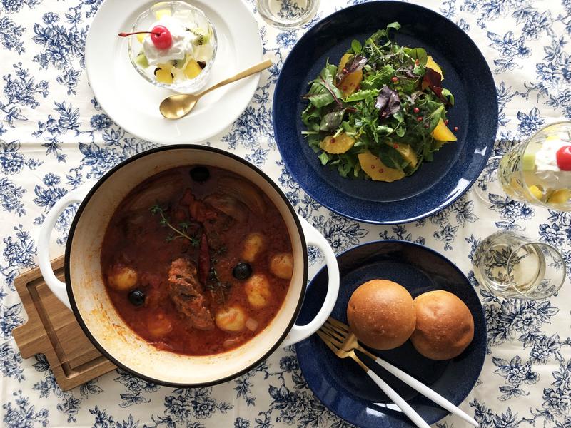 【コトラボ阿佐ヶ谷】〈参加者募集〉スペアリブのハーブトマト煮込み&春野菜とフルーツのデリ☆ ~SHINOBUさんのベジキッチン~プレゼントつき♪