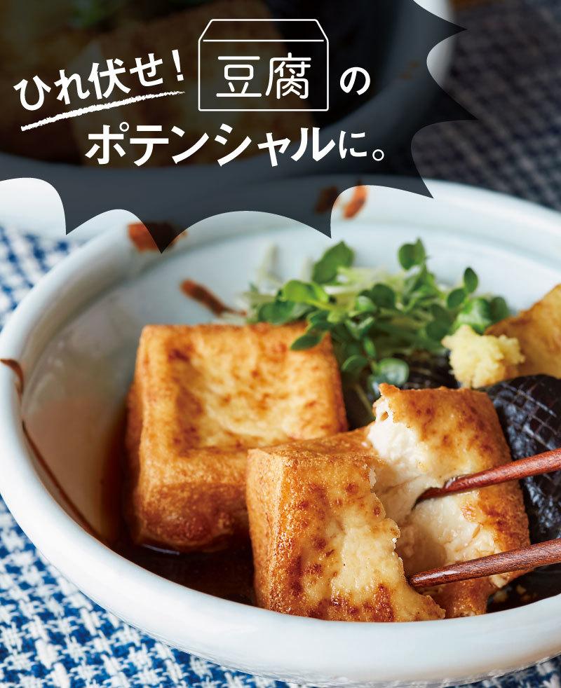 豆腐のポテンシャルにひれ伏したい【生揚げ風揚げだし豆腐】