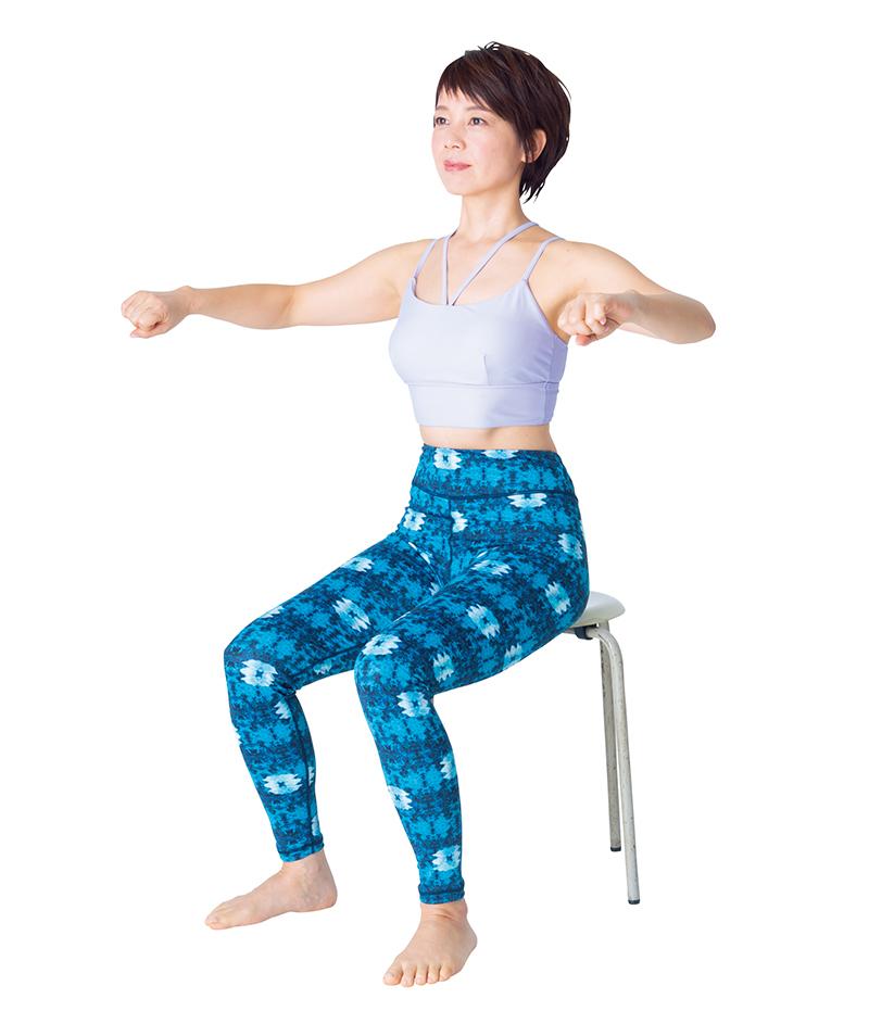 【背中やせ、二の腕やせ】運動嫌いでもOK!のばしゆらし体操