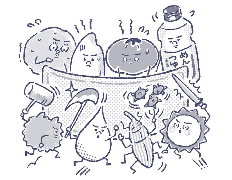 梅雨のジメジメ対策、食品保存の4つの必勝法とは?