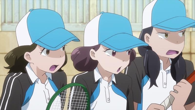 星合の空 場面カット 女子ソフトテニス部