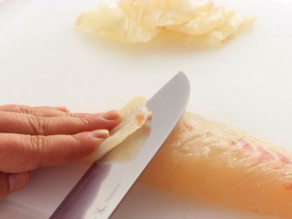 魚のそぎ造り1(白身魚)