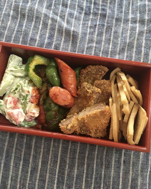 鰻屋さんのお弁当箱