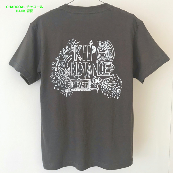 Tシャツ「KEEP DISTANCE」