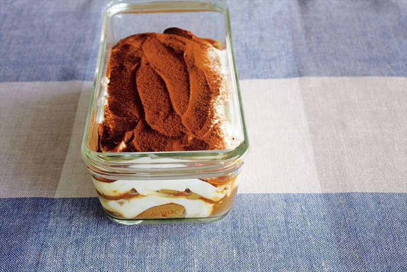 【水切りヨーグルトで!】夏にぴったり、さっぱり『ティラミス』のレシピ