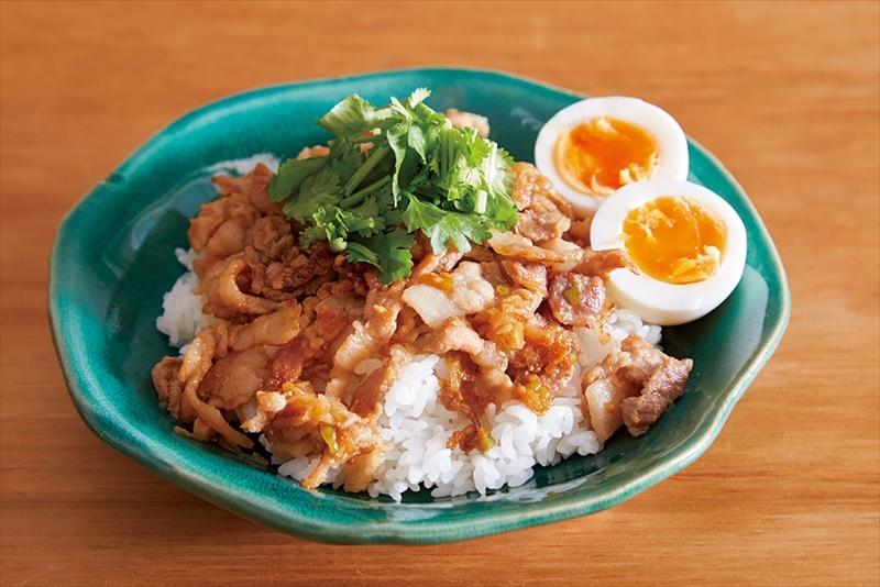 【ミールキット】薄切り肉でお手軽『魯肉飯』のレシピ