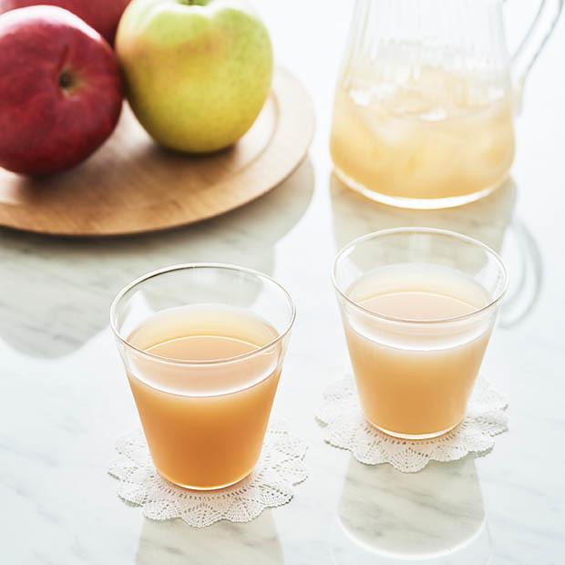 この夏のお供に。こだわりぬいて作った〈青森のりんごジュース〉