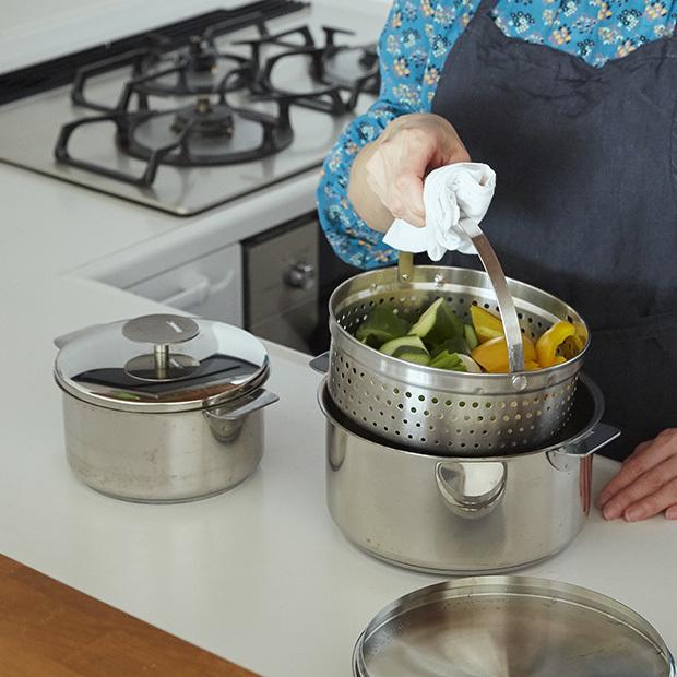 【特典あり】秋冬に大活躍! 蒸しもの、煮ものは「クリステル」の鍋におまかせ。