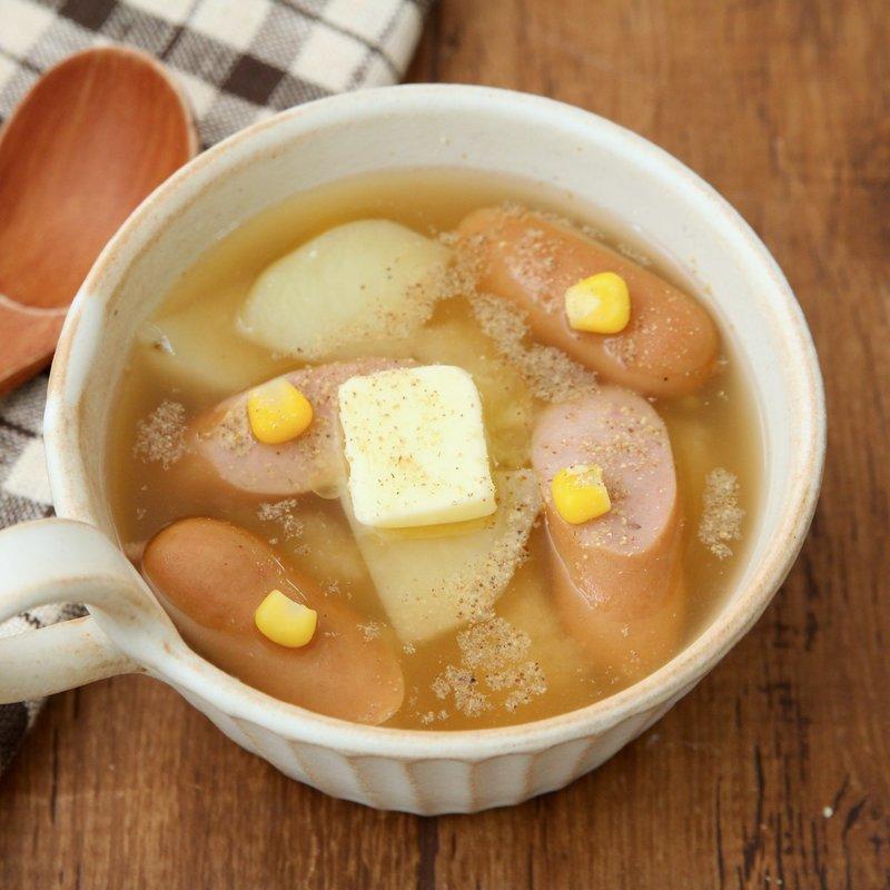 じゃがバタみそスープ