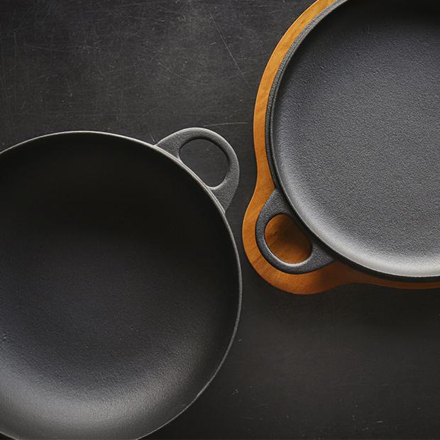 鉄フライパンにも鉄鍋にもなる! 南部鉄器のおしゃれな万能鍋