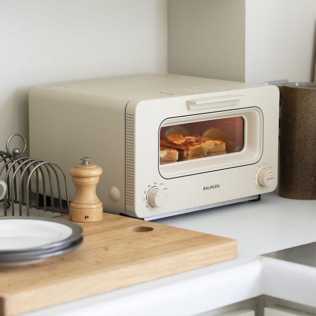 ルックスも機能もランクアップ♪ 「バルミューダ ザ・トースター」で極上のトーストを!