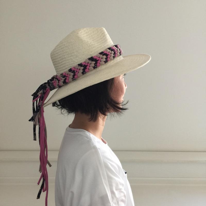 【コトラボ阿佐ヶ谷・参加者募集】夏の帽子を大人カッコいいオシャレな帽子に簡単リメイク! 初心者でも簡単! 人気のBaby Zpagettiで作る〜基本のミサンガ〜