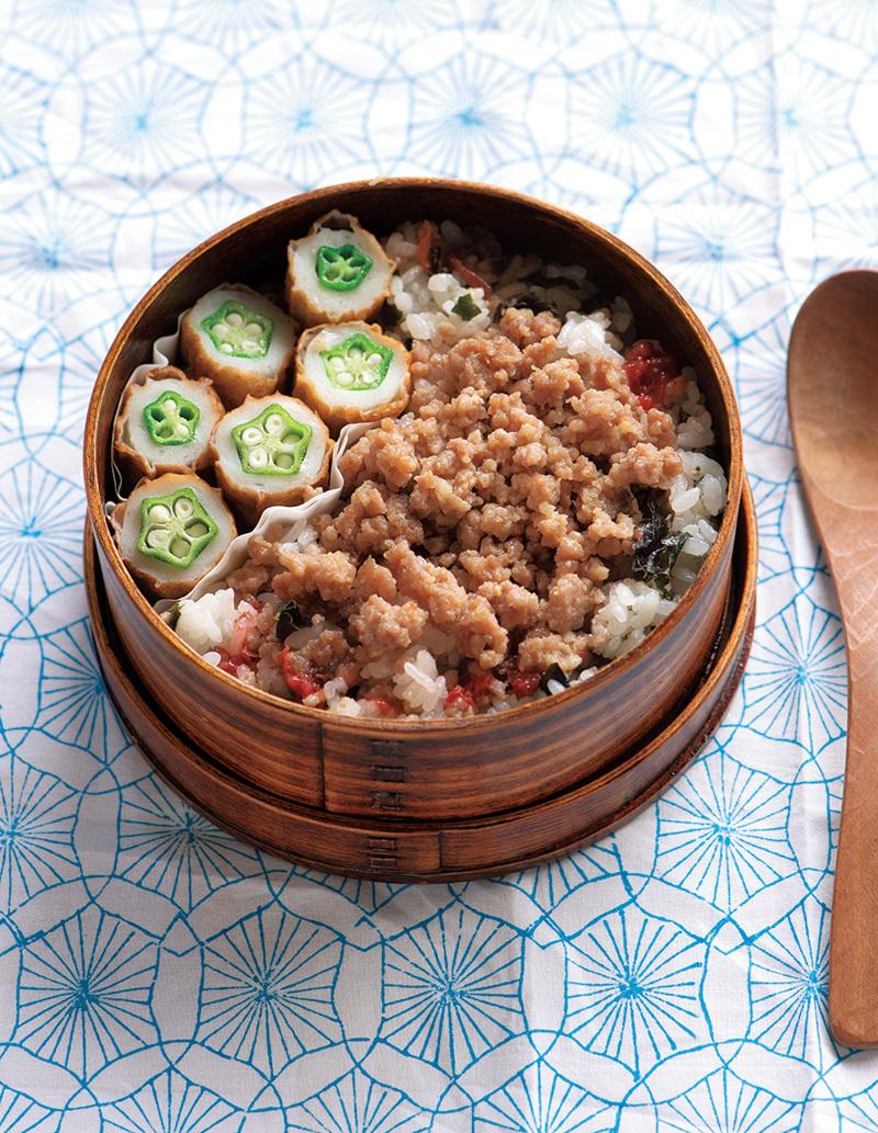 「レンチン混ぜご飯弁当」が夏のお弁当の「大変!」をお助け