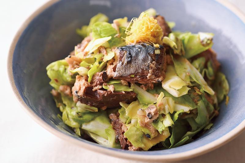 そうめんのとなりに。鯖缶で作る3分副菜レシピ