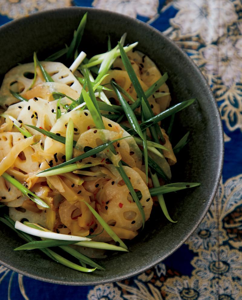 【れんこんレシピ公開!】秋を楽しむための、新しいサラダ
