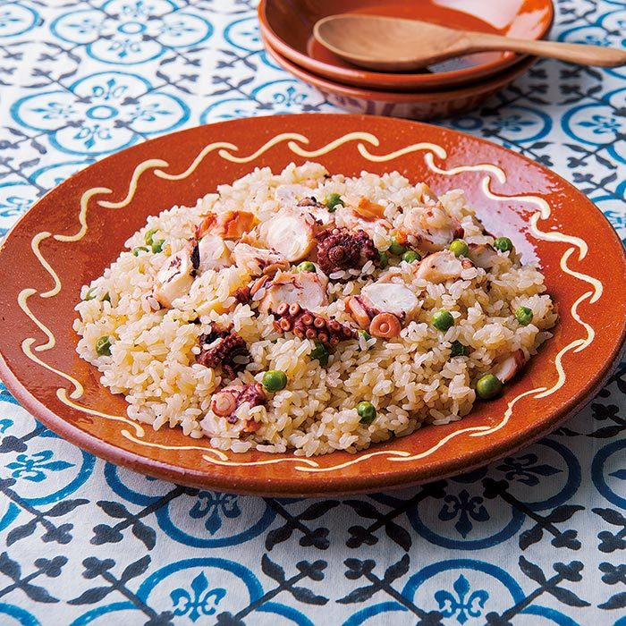 vol.1 ポルトガル・ポルトの名物料理「たこと豆の炊き込みご飯」