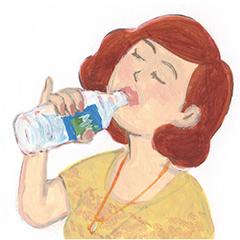 猛暑の夏は〈水不足便秘〉に要注意!