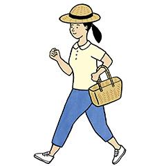 〈15分早歩き〉で自律神経を整えて便秘を解消!