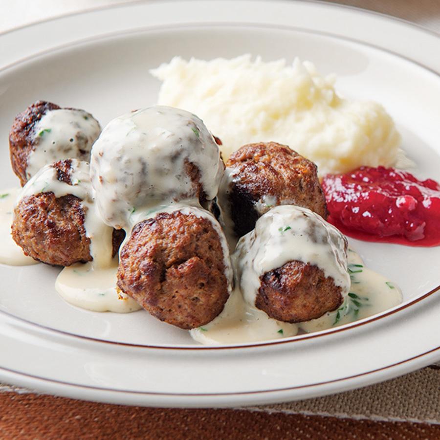vol.6 開拓時代からの伝統料理 スウェーデンミートボール
