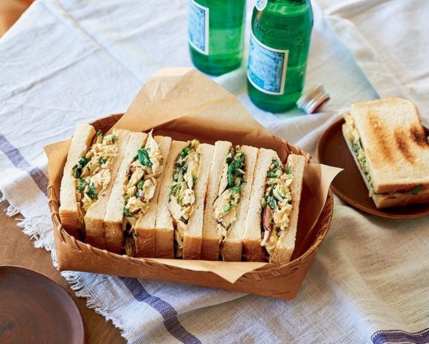 ワタナベマキさんに教わる、クレソンのサンドイッチ