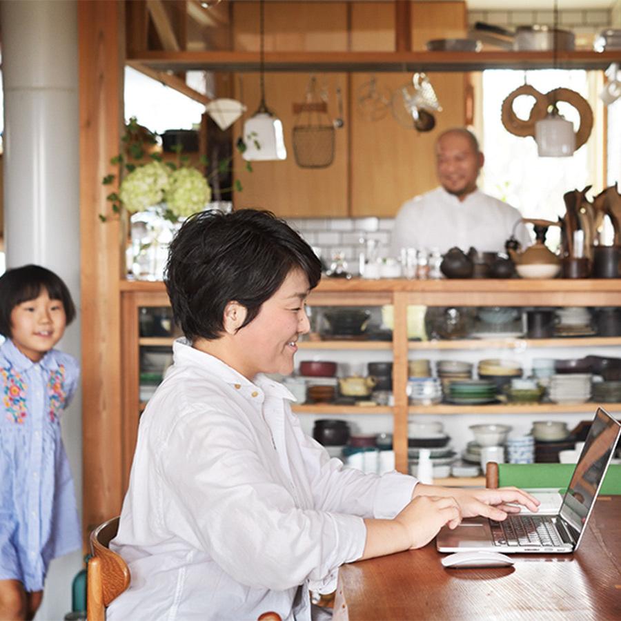vol.8「夫婦で自営だから、二人で力を合わせる」。瑞弥さんが考える家事シェアとは?