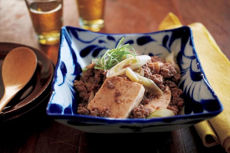 加熱1回! レンチン『肉豆腐』でおうち居酒屋