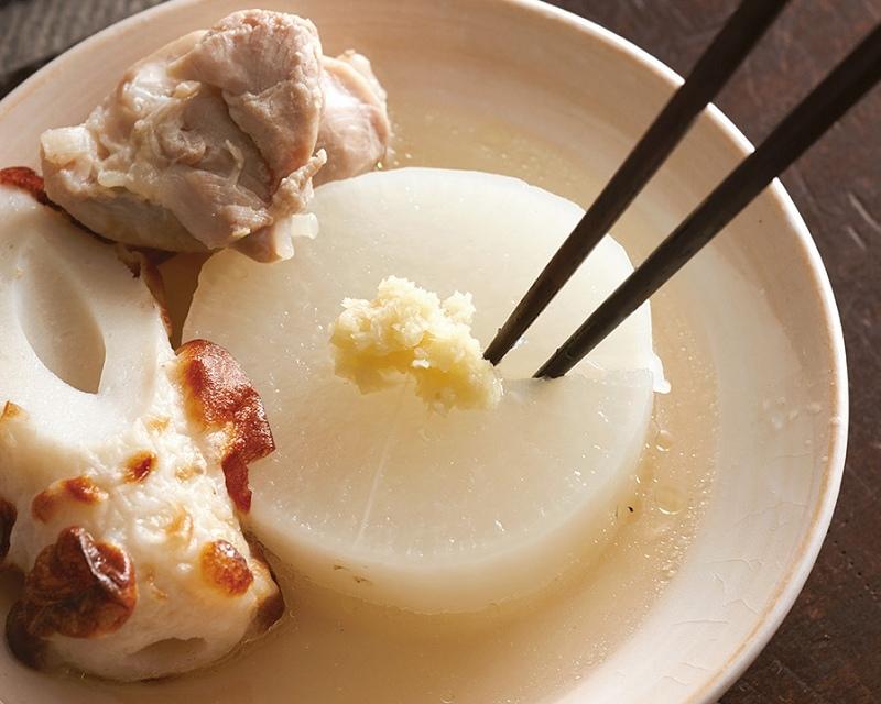 煮込み時間たったの10分! 『厚切り大根と鶏肉の塩おでん』のレシピ