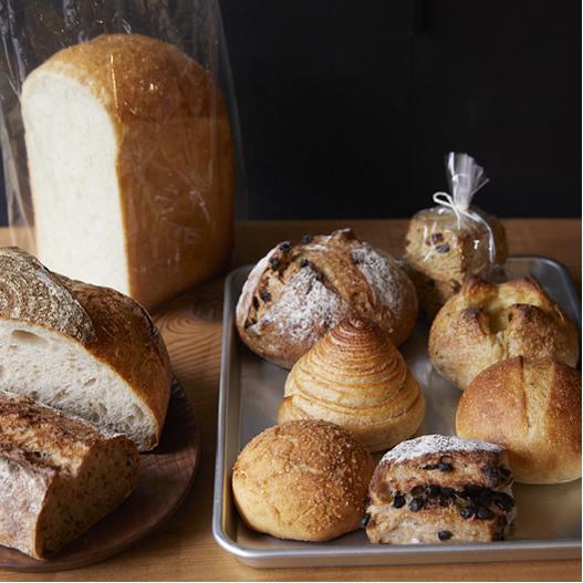 〈信州・上田発〉こだわりベーカリーのパンで、幸せ時間