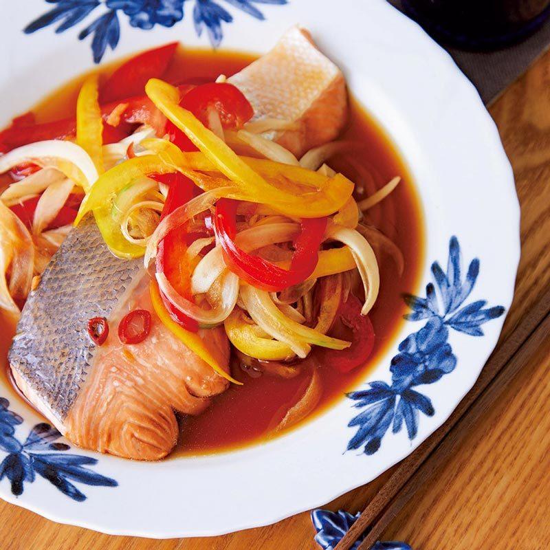 【偏愛!ガチ推しレシピ】鮭のレンジ南蛮漬け