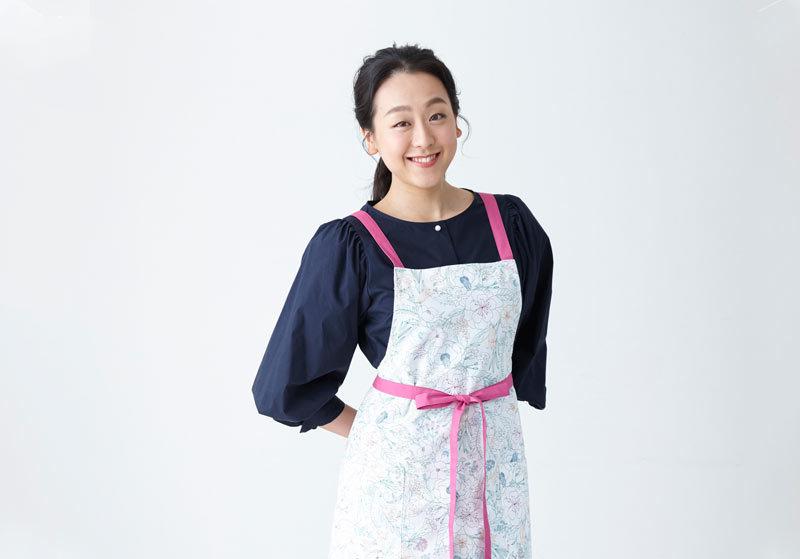【ご予約受付中】浅田真央さんと、料理が楽しくなるエプロンを作りました!
