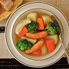レンジで10分! 野菜たっぷりポトフのレシピ