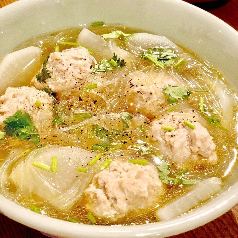 【料理編集者のうちごはん8】福島が休肝日に作る「大根と鶏だんごのスープ」