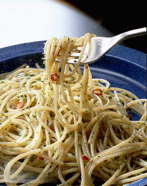 シンプルガーリックオイルスパゲティ