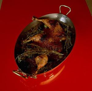 チキンのトマトソースグラタン