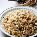 豆腐とツナの炒飯