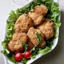 マスタード風味鶏肉の炒め揚げ