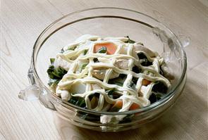 ささ身とかぶのスープ煮サラダ