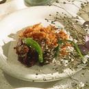 鶏皮と砂ぎものカリカリ揚げ