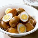 ゆで卵のカレーしょうゆ煮